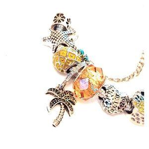 Jewelry - Florida vacation charm bracelet-NEW
